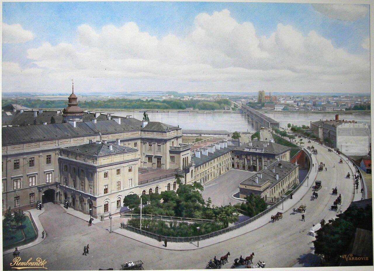 Новый съезд к Александровскому мосту