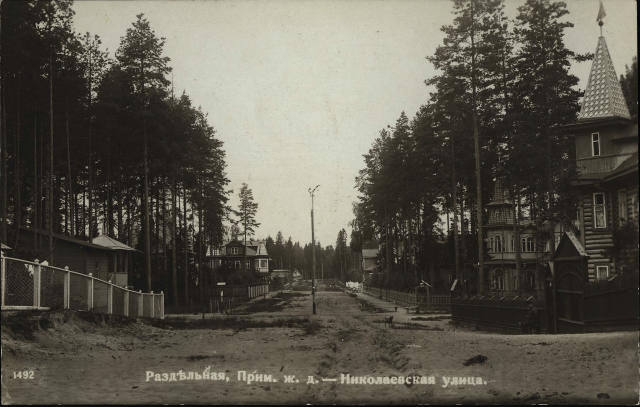 Раздельная. Николаевская улица