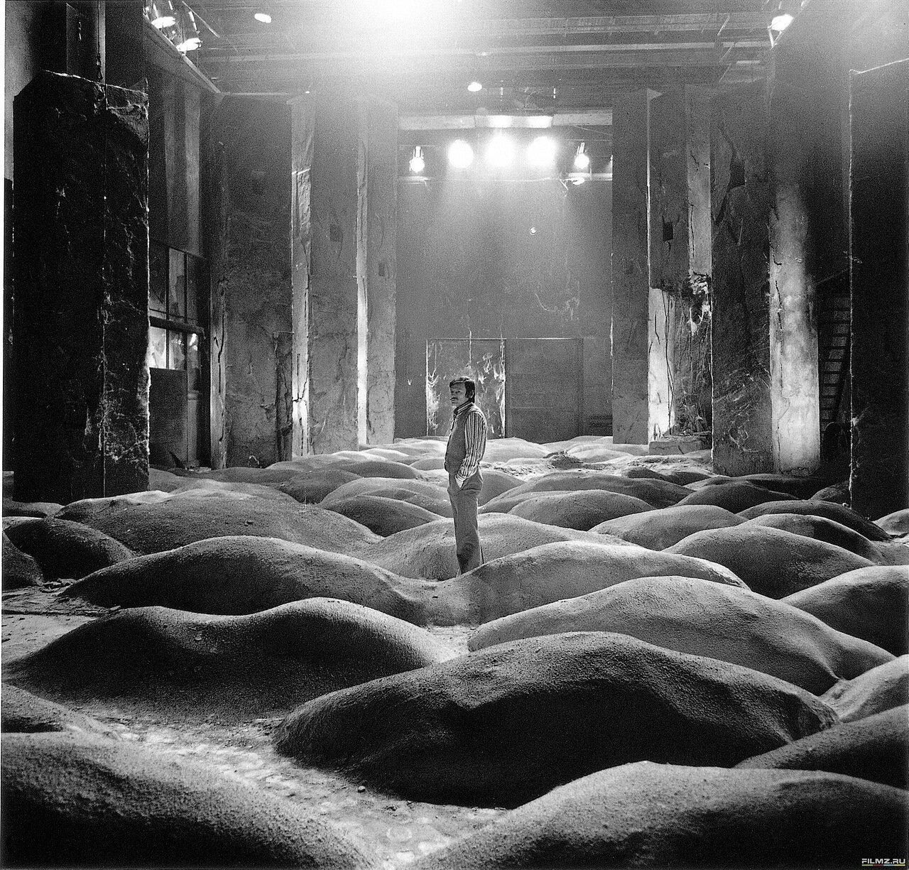 1979. Андрей Тарковский на съемках «Сталкера»