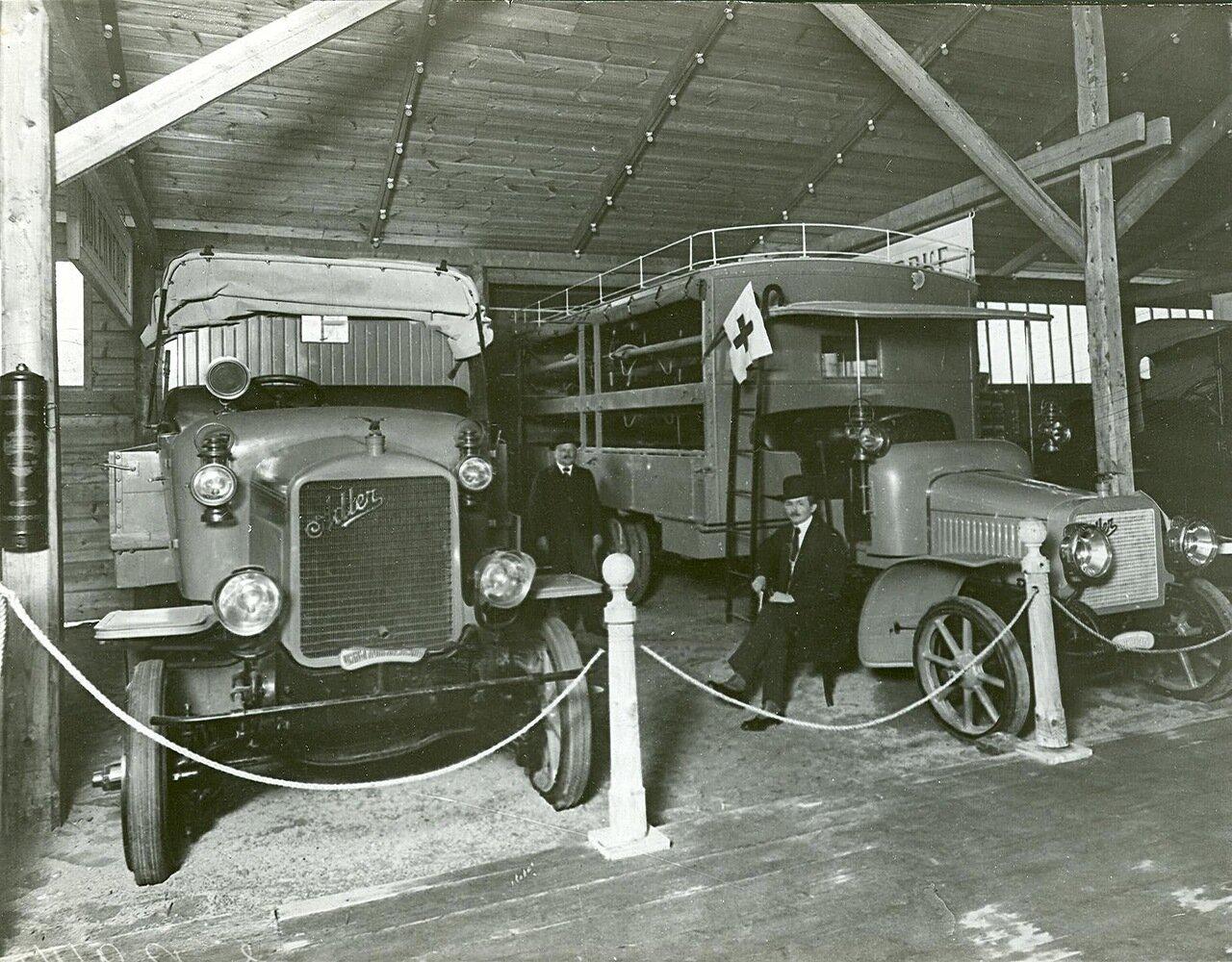 55. Автомобили фирмы Адлер (санитарные автомобили)