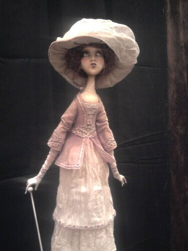 """Gone away..."" – art doll by Anna Zueva"