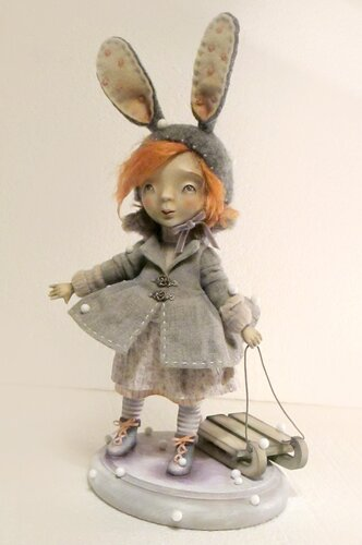 Let's play?.. / Поиграем?.. – art doll by Anna Zueva