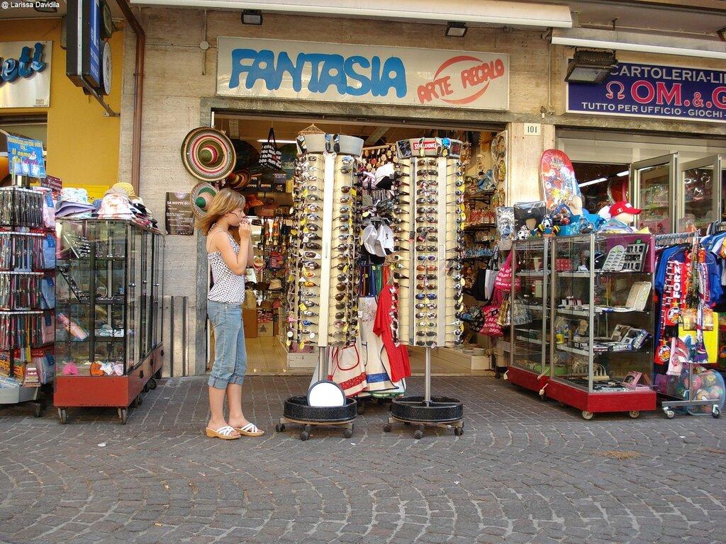 Italia-Rimini-2007 Шопинг.