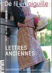 DFEA HS 25 Lettres Anciennes