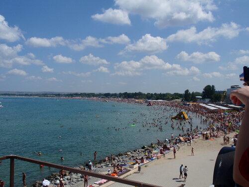 Анапа. Пляж. Июль 2010