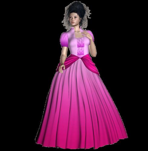 принцесса в розовом
