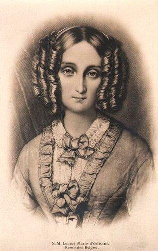Луиза Мария Орлеанская, королева Бельгии.