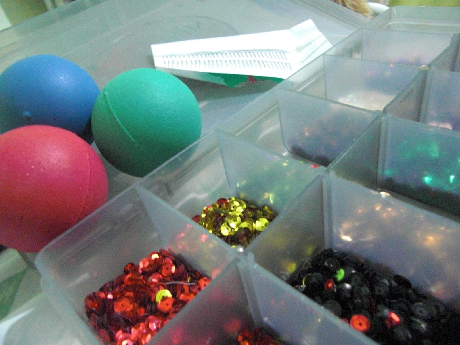 Мастер-класс по изготовлению новогодних шаров
