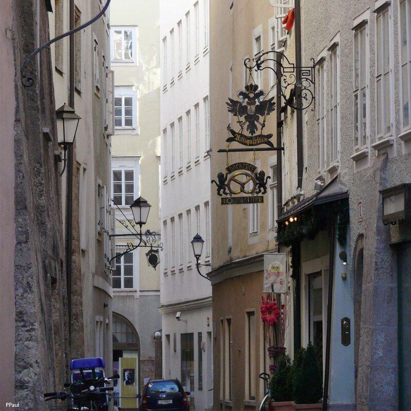 По улицам старого Зальцбурга