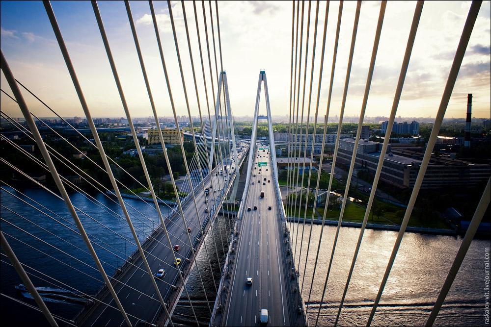 фото большой обуховский мост.