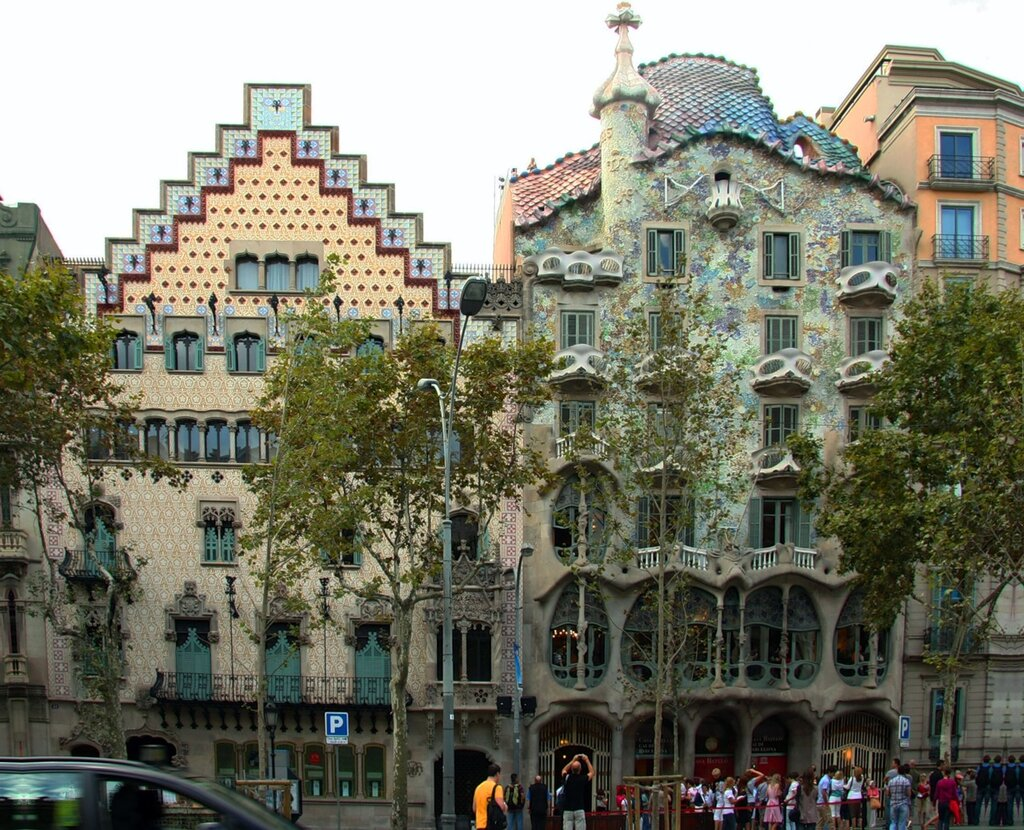 【引用】巴塞罗那是加泰罗尼亚的明珠。西班牙。 - 枫林傲然 - .