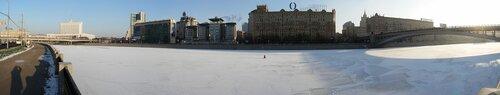 Панорама Смоленской набережной