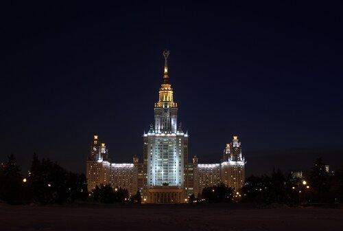 Новогодняя ночь в сталинской высотке!!!