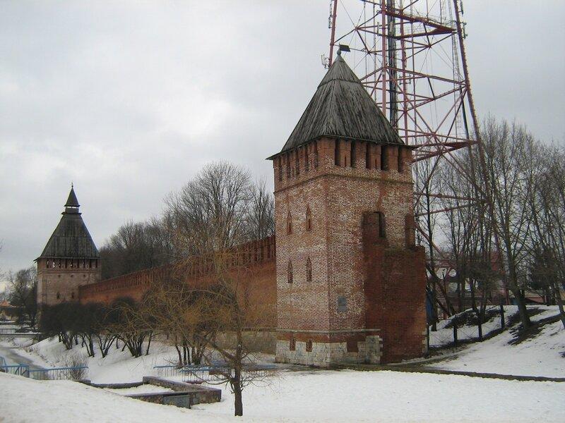 кусок стены Смоленского Кремля - 1