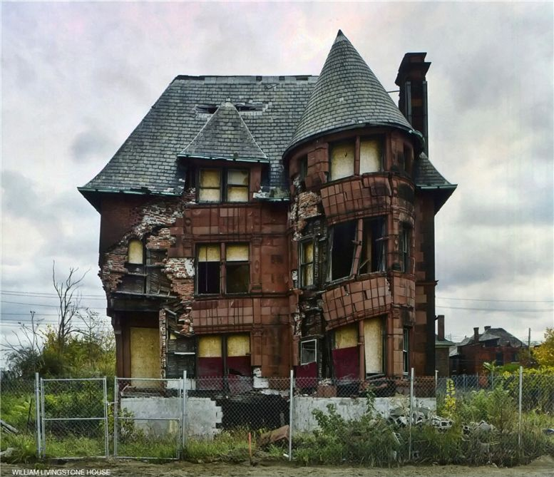 Детройт / The Ruins of Detroit by Yves Marchand and Romain Meffre