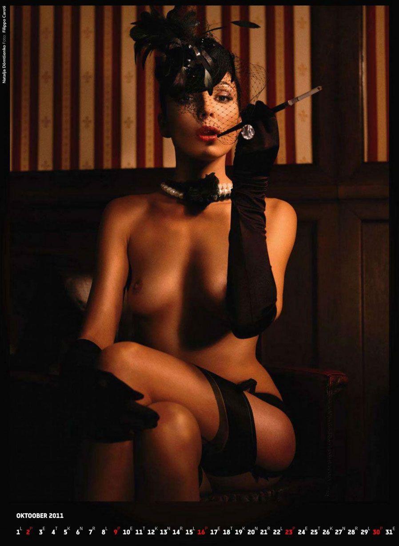 календарь журнала Playboy Estonia calendar 2011 - Natalja Domtsenko