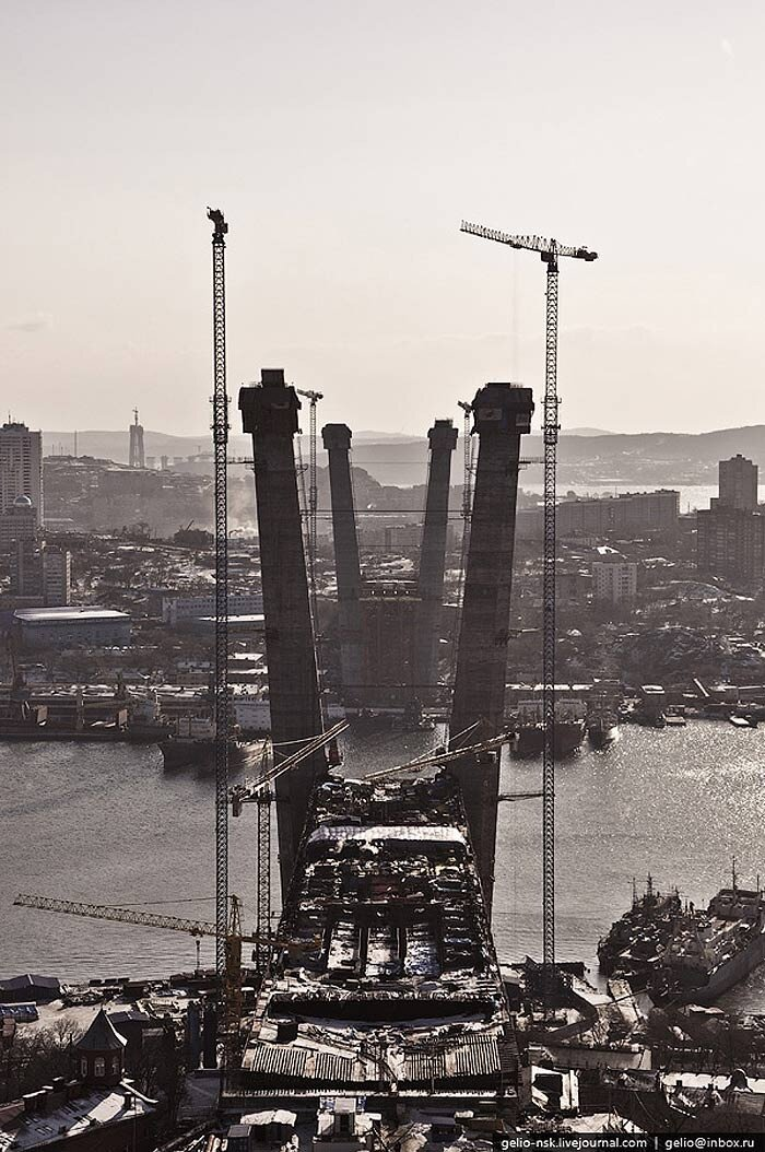 Дальний Восток. Владивосток с высоты (2010) .