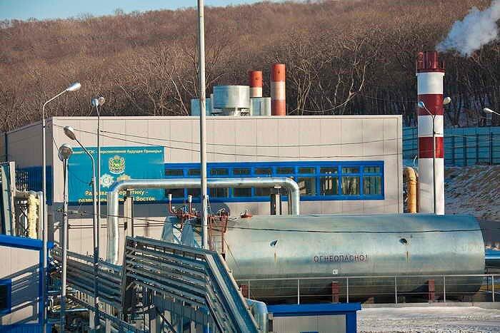 Электростанция газовая к саммиту АТЭС 2012