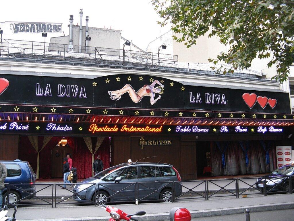 Клуб La Diva, Париж