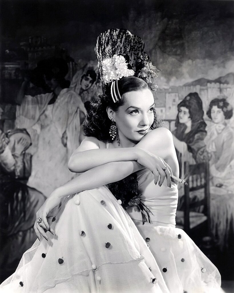 Lupe Velez Old Hollywood Glamour