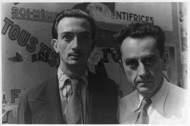 Salvador Dali & Man Ray