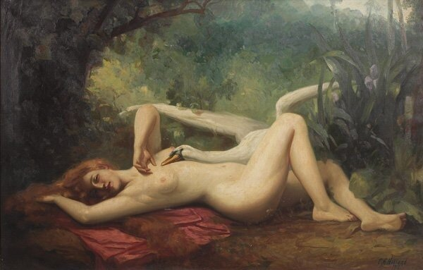 Leda with the Swan C.A. Holland