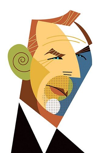 Kevin Costner by Pablo Lobato