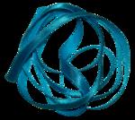Secret Garden Ribbon blue2.png