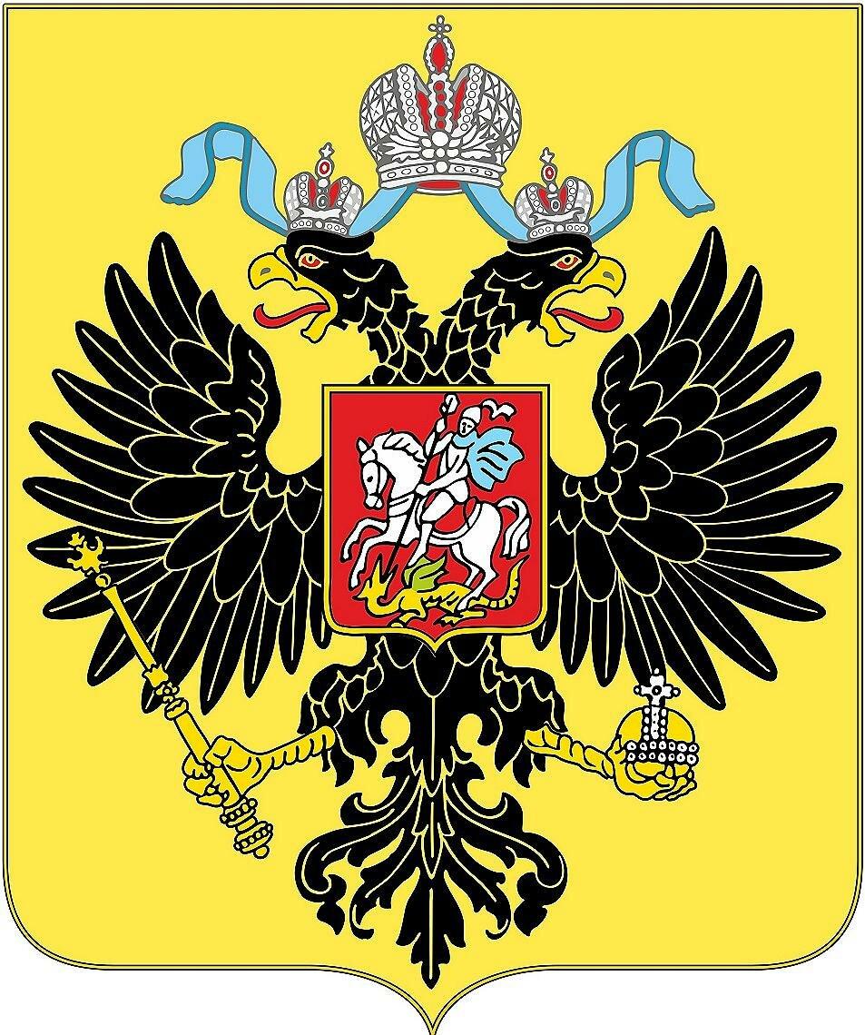 Центральный элемент большого государственного герба,  (1882-1917)