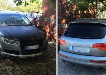 В Кишиневе обнаружен элитный автомобиль, угнанный в Германии