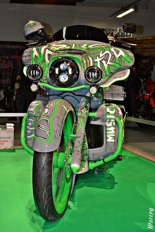Кастомбайк под №1 - Harley Davidson DreamLine