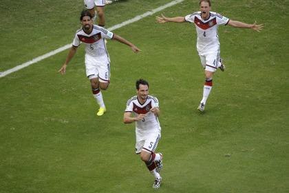 Германия выиграла у Португалии с разгромным счетом
