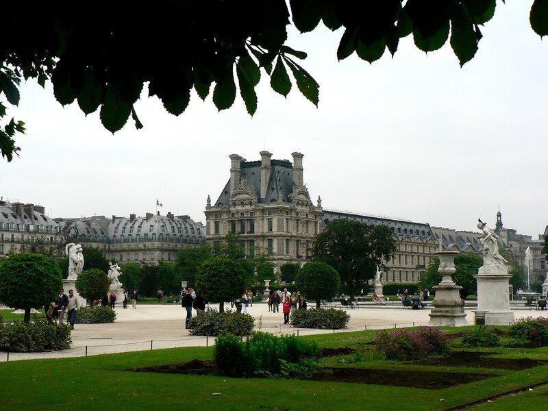 Париж. Парк Тюильри