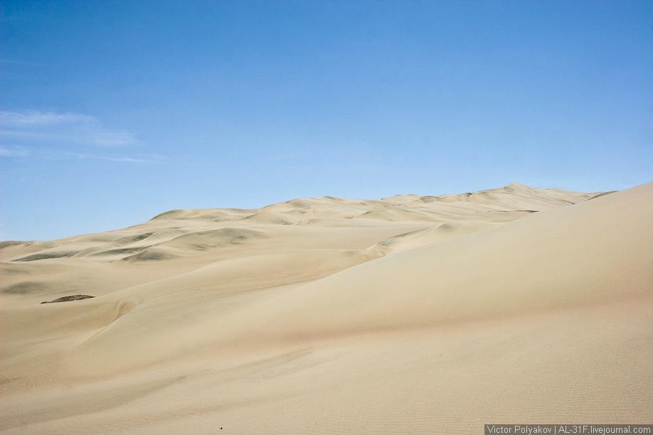 Пустыня Наска. Мыс Сан-Фернандо. Перу