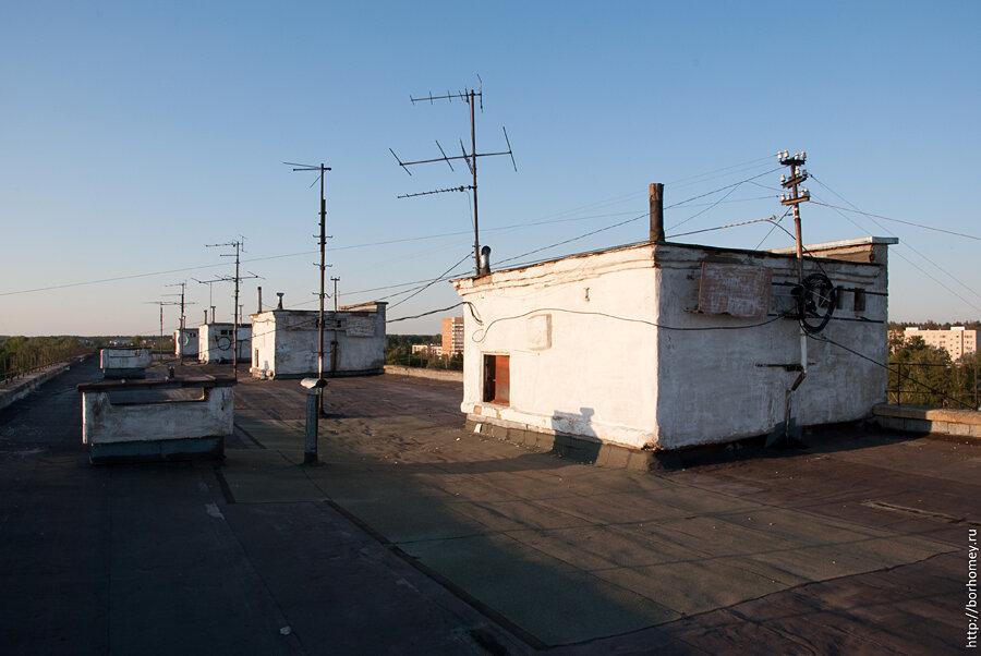 крыши сарова фото