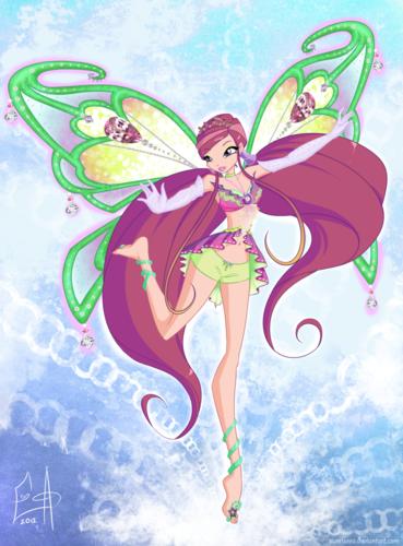 Творческий Конкурс винкc, картинки и игра одевалка волшебнице!