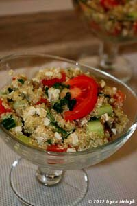 Диетический салат готов!