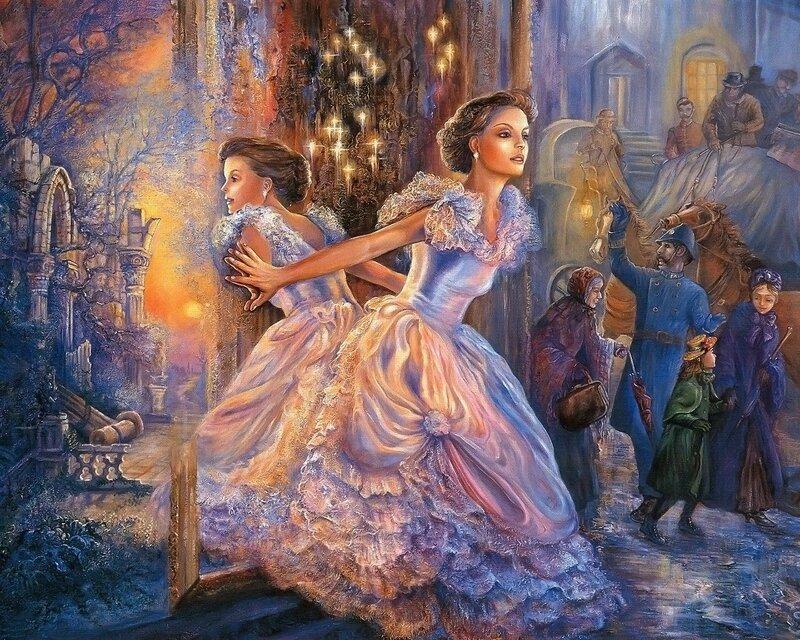 Josephine Wall. Таинственное зеркало.jpg