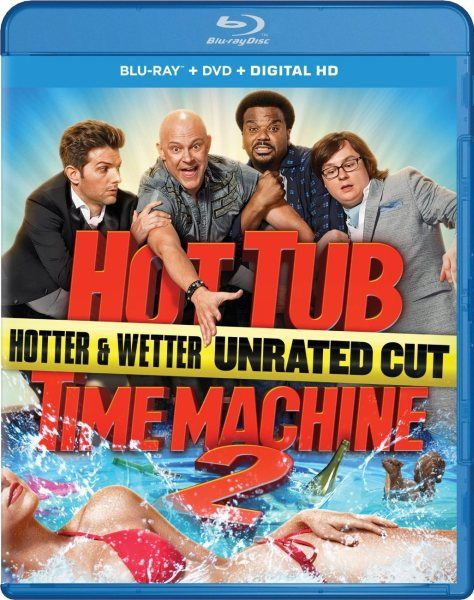 Машина времени в джакузи 2 / Hot Tub Time Machine 2  [THEATRICAL & UNRATED] (2015) BDRip/1080p/720p + HDRip