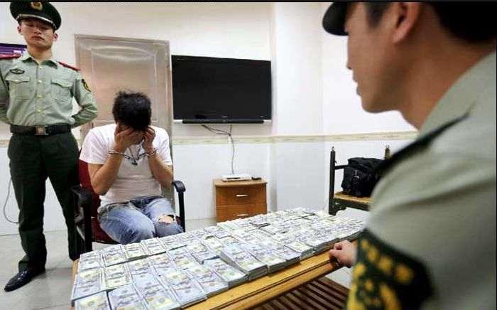 контрабанда денег