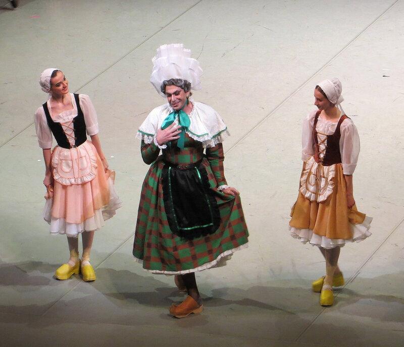 Николай цискаридзе в балете тщетная предосторожность смотреть
