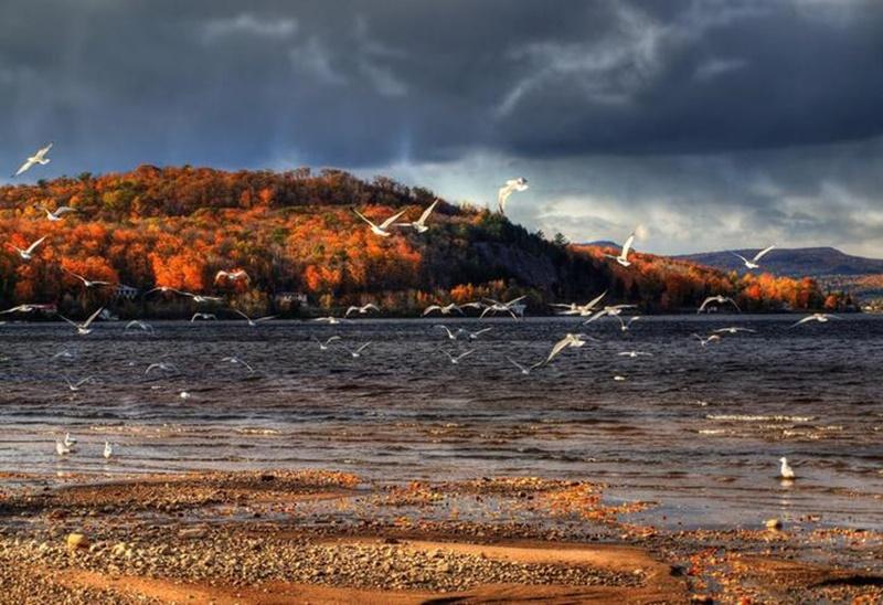 Осенние озера: 30 фотографий 0 145de4 f38a75b5 orig