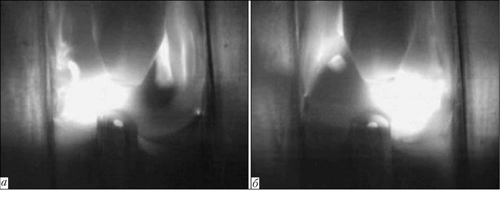 Видеоизображение процесса аргонодуговой сварки титана вольфрамовым электродом