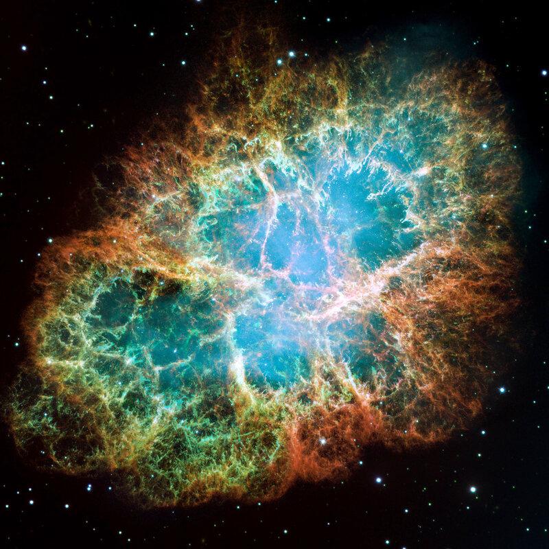 Крабовидная туманность Crab nebula M1 NGC 1952 Taurus A