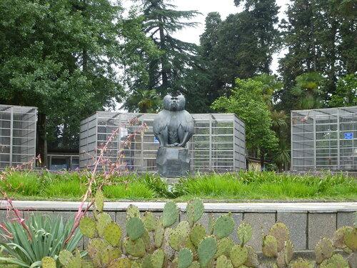 Памятник павиану