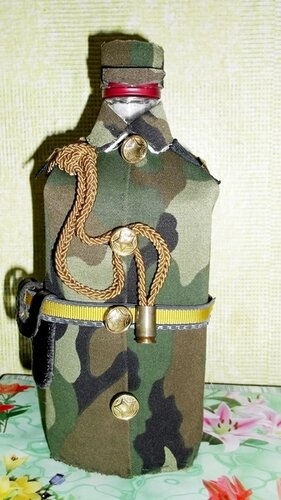 бутылка военный своими руками