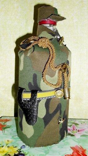 Военные бутылки своими руками