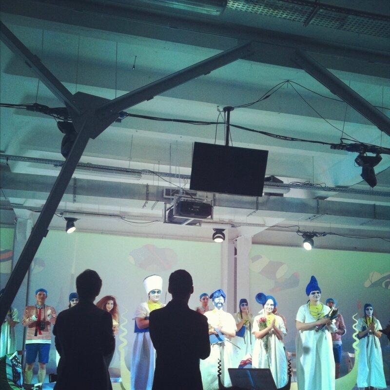 Либретто - Б. Юхананова, музыка - Д. Курляндского