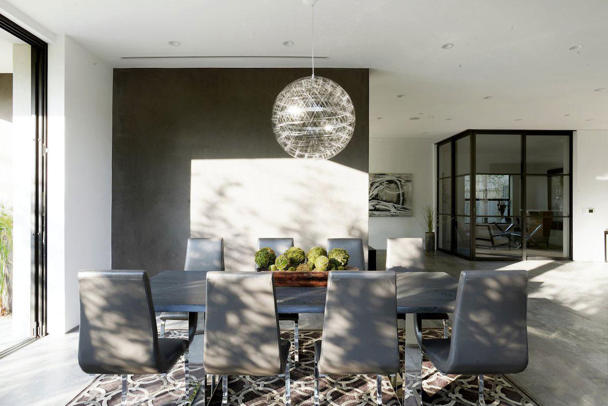 Amit Apel Design, лаконичный интерьер, японский интерьер, двухэтажный частный дом в Калифорнии, особняки Лос-Анджелеса, интерьер в стиле минимализма