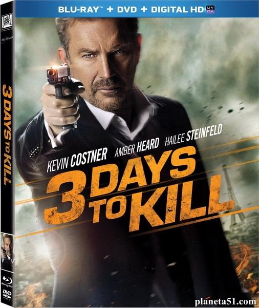 3 дня на убийство / 3 Days to Kill (2014/BDRip/HDRip)
